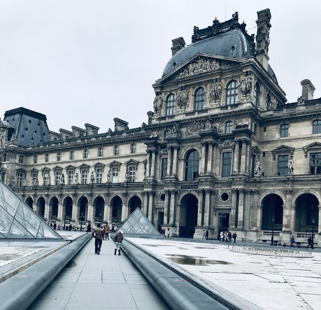 The Louvre Museum Main Square