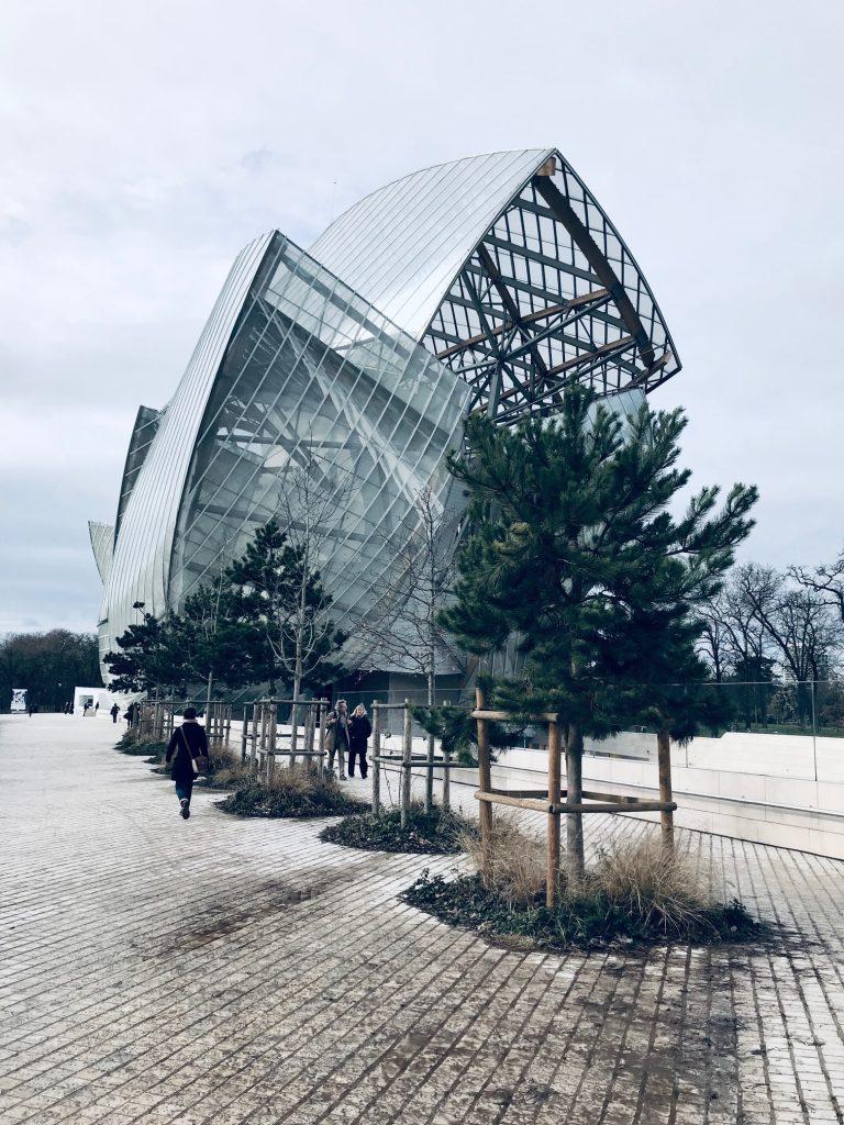 The Fondation Louis Vuitton